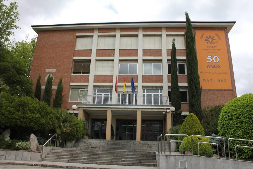 Colegio María Virgen Madrid - Entrada principal