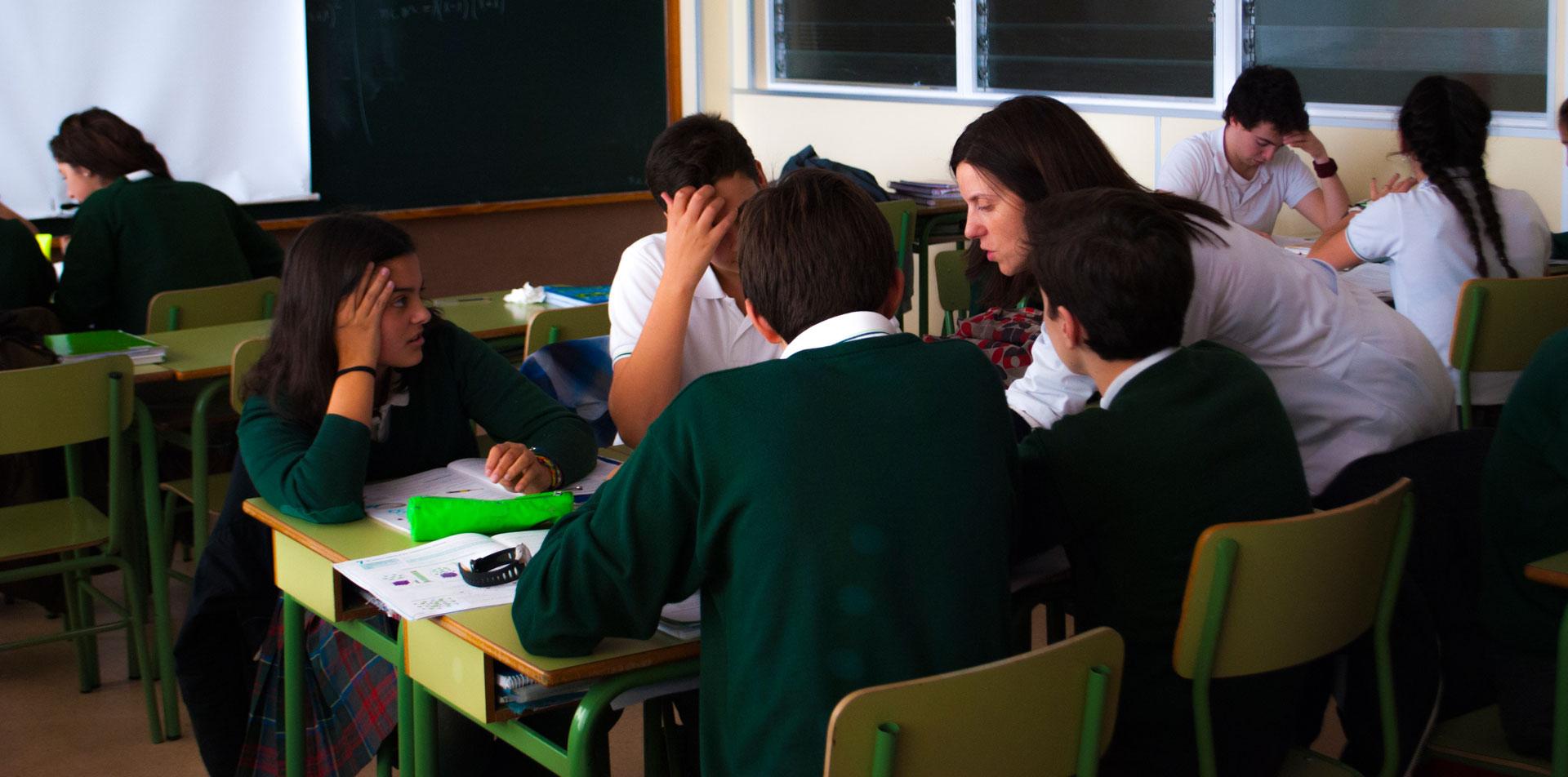 Aprendizaje Cooperativo Colegio Maria Virgen Madrid