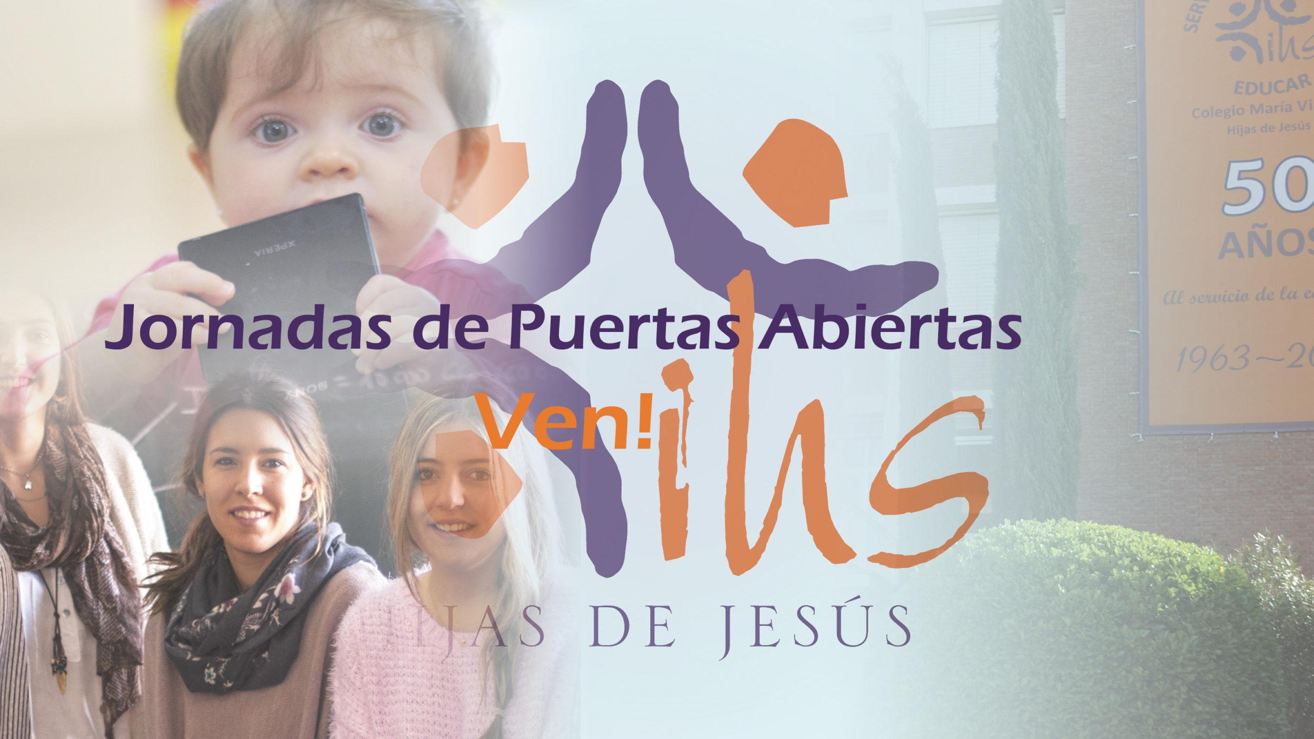 Jornadas Puertas abiertas Colegio Concertado María Virgen Chamartín