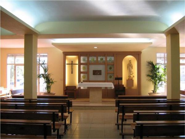Capilla Colegio Maria virgen