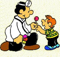 Pediatra y gabinete médico