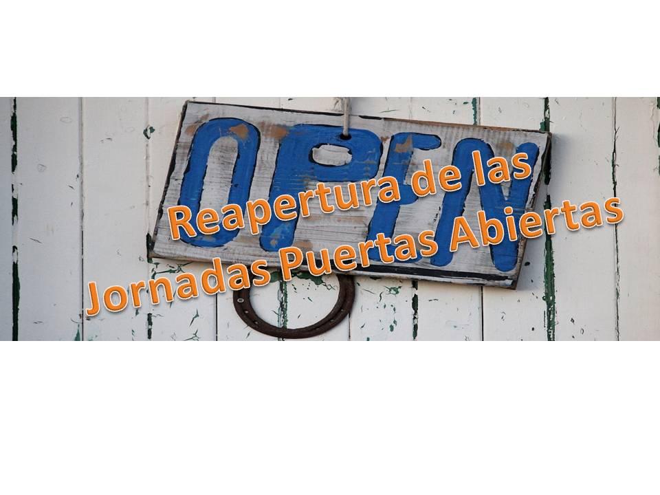 Admisiones Jornadas Puertas Abiertas colegio bilingüe concertado María Virgen Chamartín