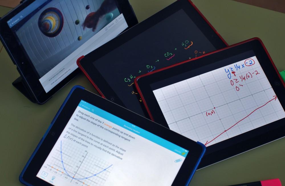 iPads en el aula Colegio concertado María Virgen Chamartín
