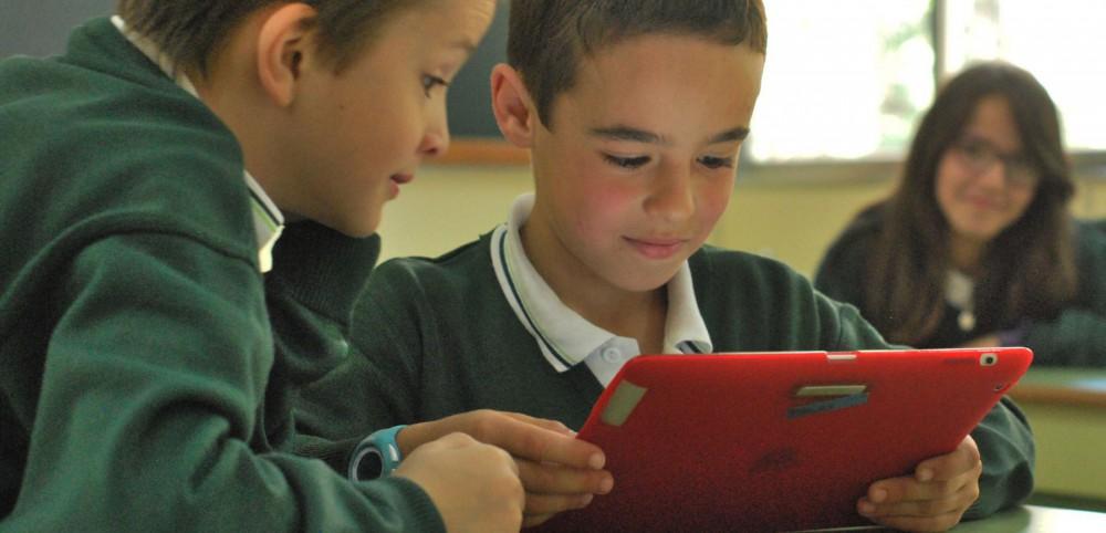 iPad one to one Colegio María Virgen