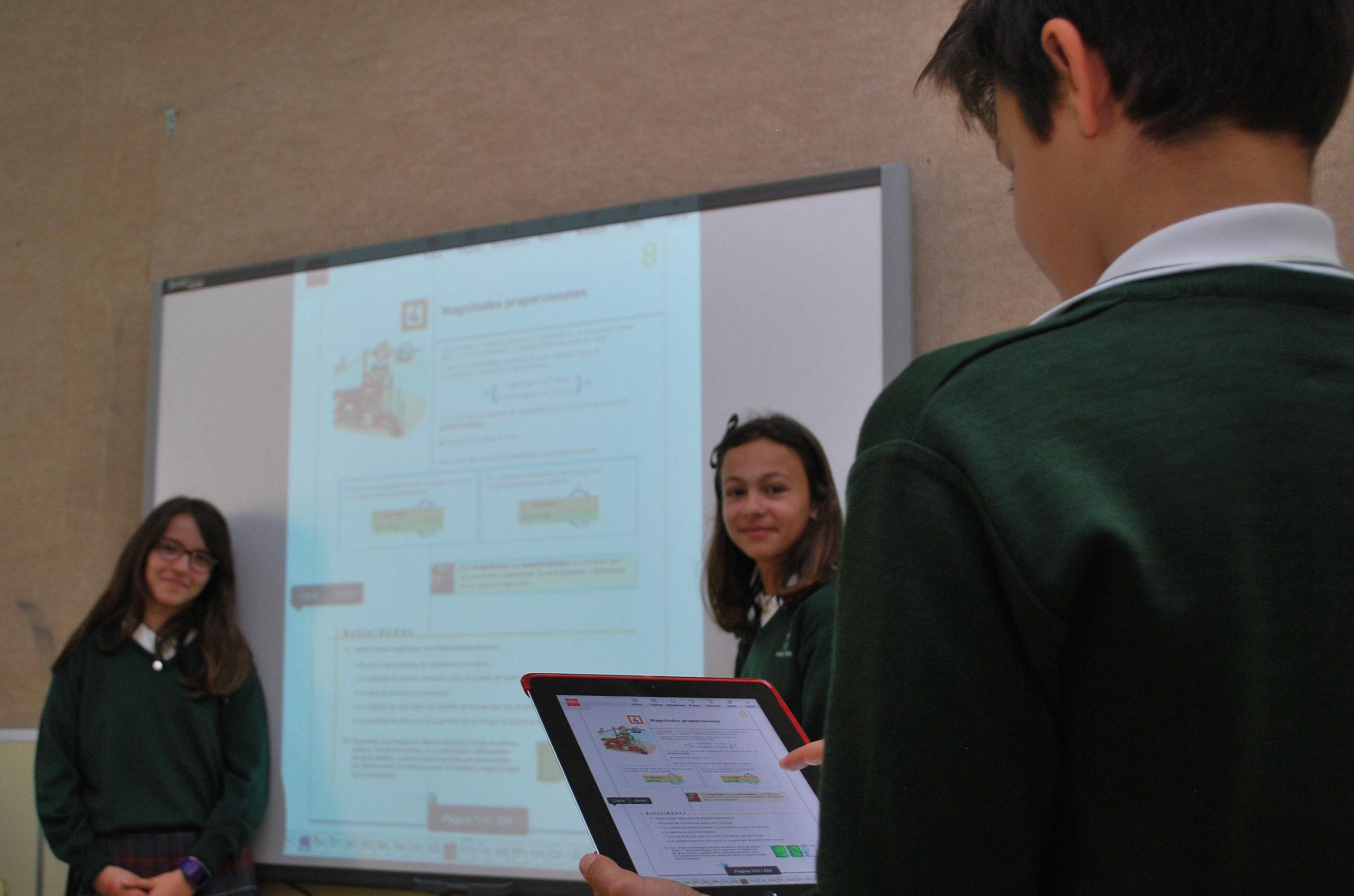 iPads Colegio María Virgen