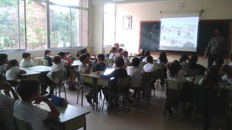colegio maría virgen, chamartín, concertado, bilingüe, tablet, ipad