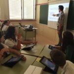 tablet, ipad, colegio maría virgen, chamartín, concertado, bilingüe