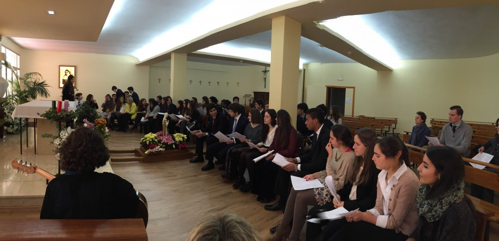 Colegio maria virgen, mil albricias, celebración de la Inmaculada, hijas de Jesús