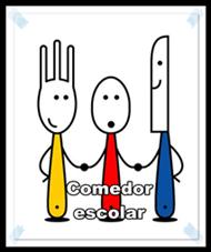 Resultado de imagen de cartel comedor escolar