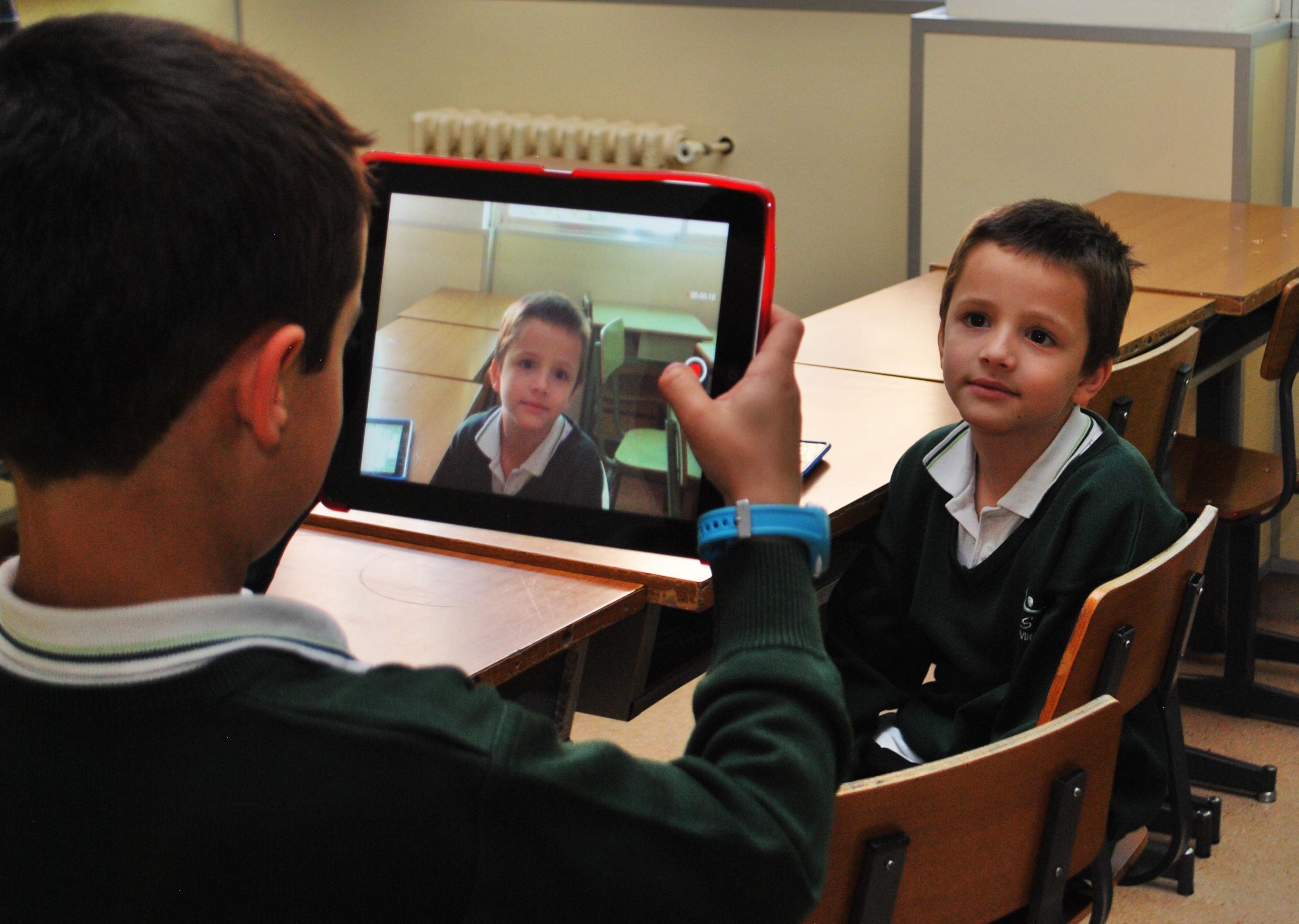 iPads Colegio concertado María Virgen Madrid