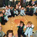 colegio maría virgen, madrid, concertado, dia escolar de la paz, no violencia, hijas de jesus, jesuitinas, madrid, chamartín