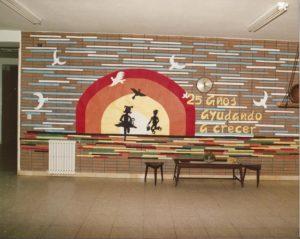 Colegio María Virgen Concertado bilingüe Chamartin historia hijas de jesús, jesuitinas, Madrid, 25 aniversario,