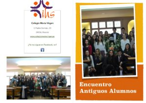 Invitación Antiguos Alumnos Colegio María Virgen Chamartín