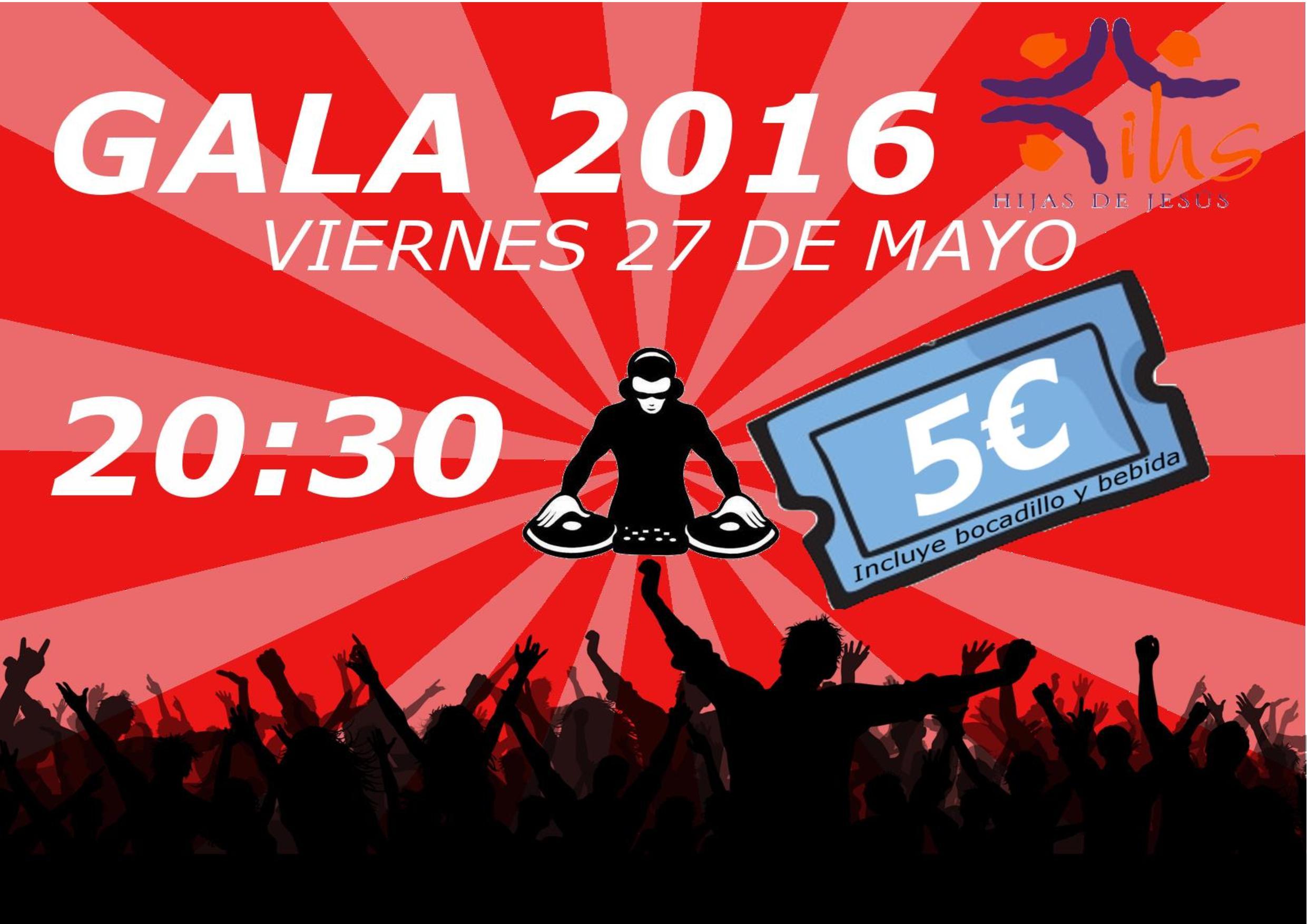 fiestas MV, colegio María Virgen, 2016, gala