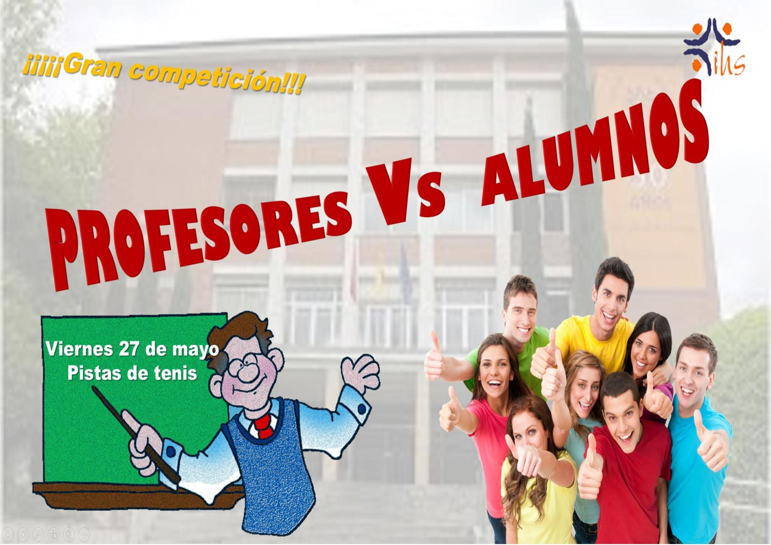 profes contra alumnos