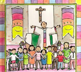 Colegio María Virgen, eucaristia, misa colegial