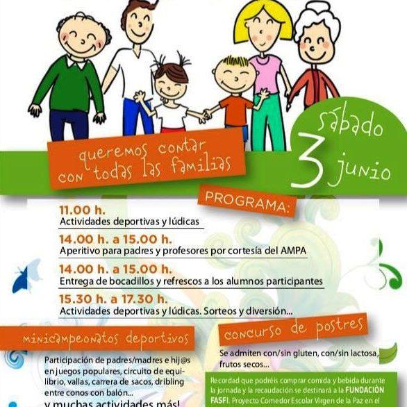 Dia de la Familia, MV, María Virgen colegio, Chamartín