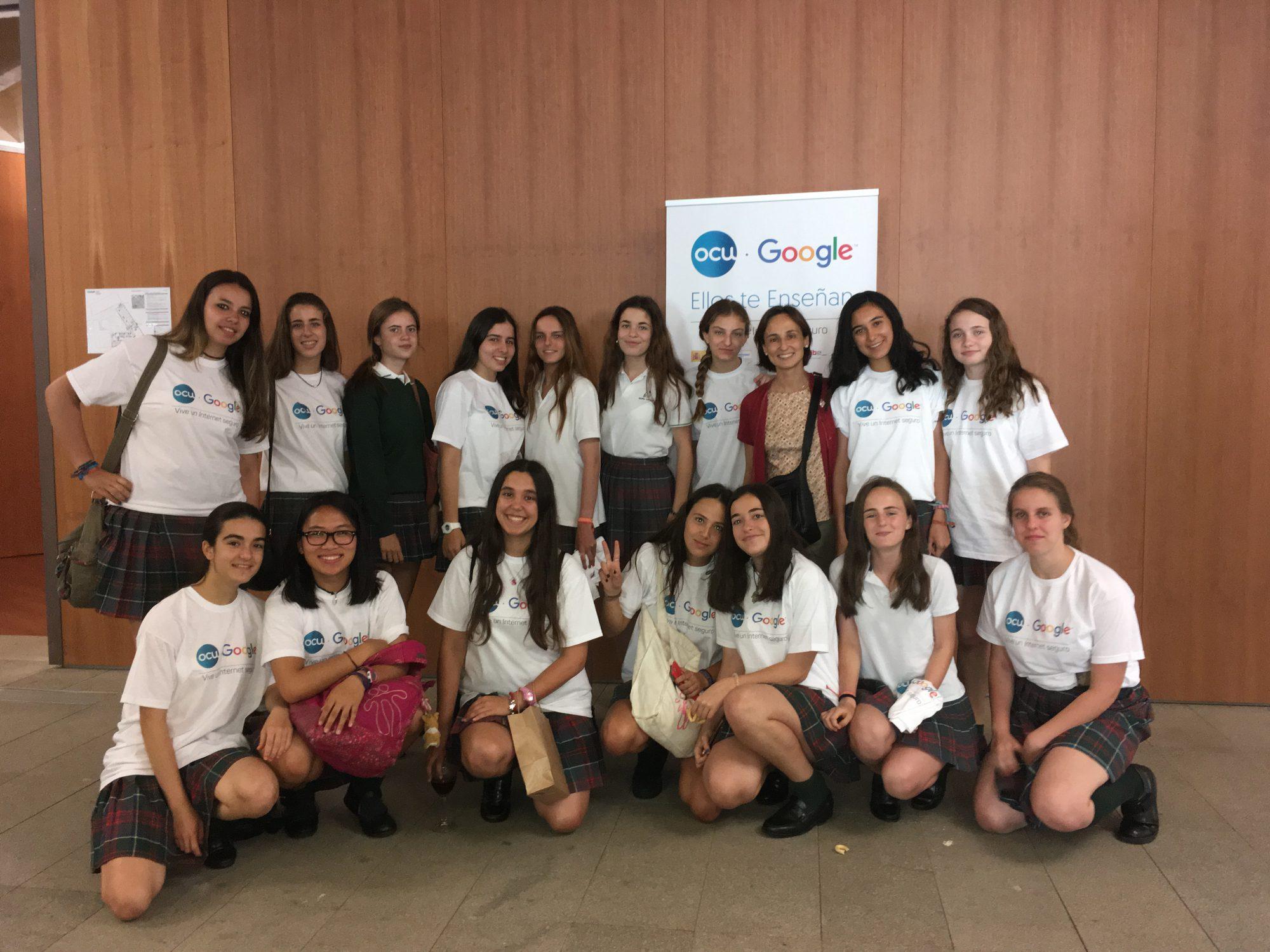 Nuevas tecnologías colegio concertado bilingüe María Virgen Chamartín