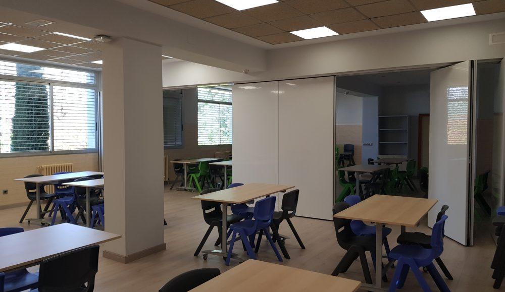 Instalaciones plazas puertas abiertas Colegio Concertado Bilingüe María Virgen Chamartín Madrid
