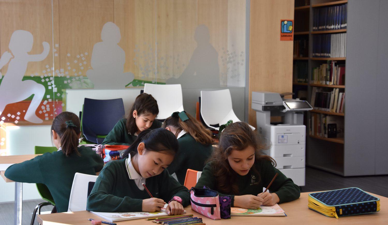 Primaria en colegio bilingüe concertado María Virgen Madrid