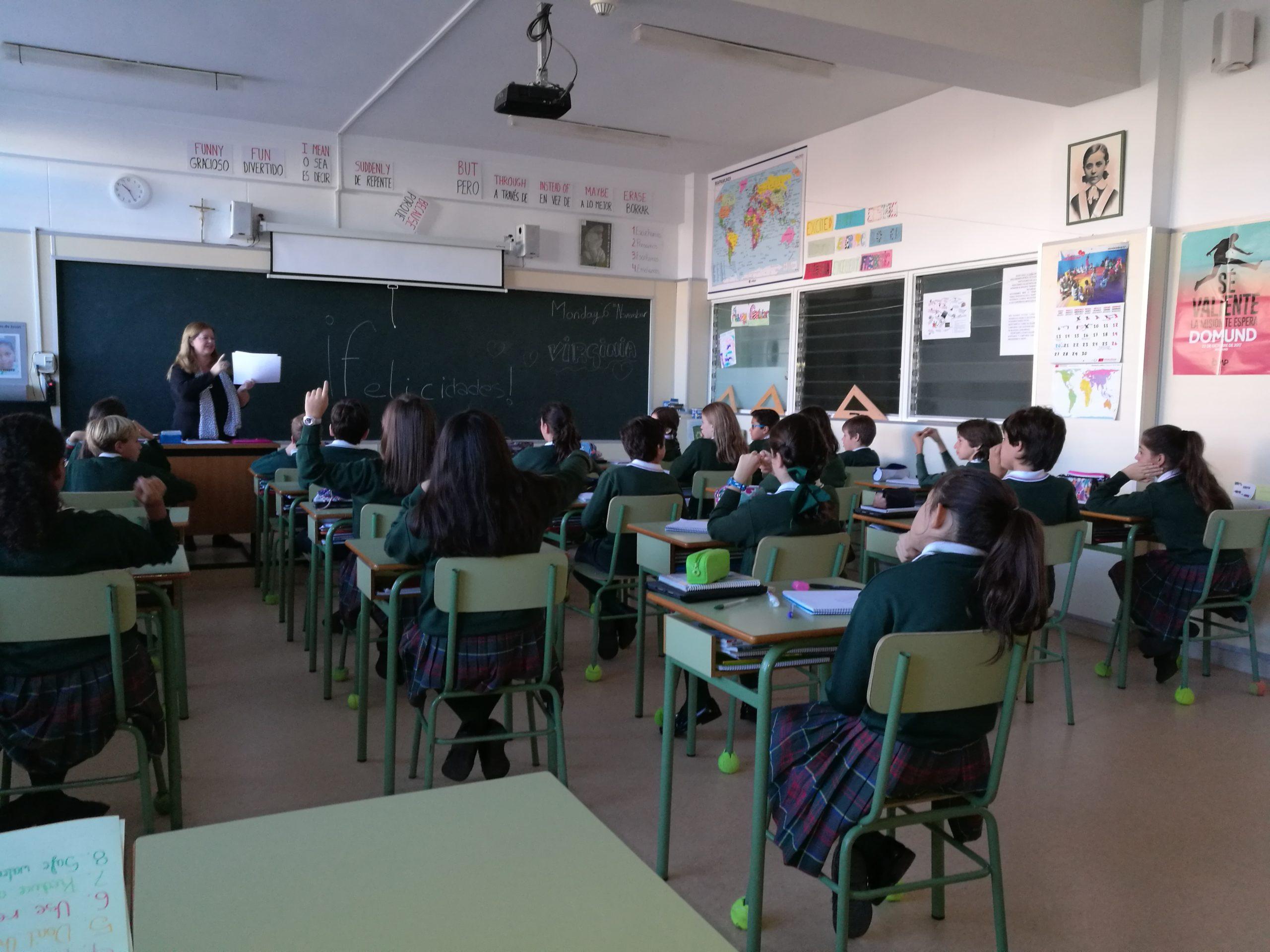Colegio María Virgen Chamartín Primaria