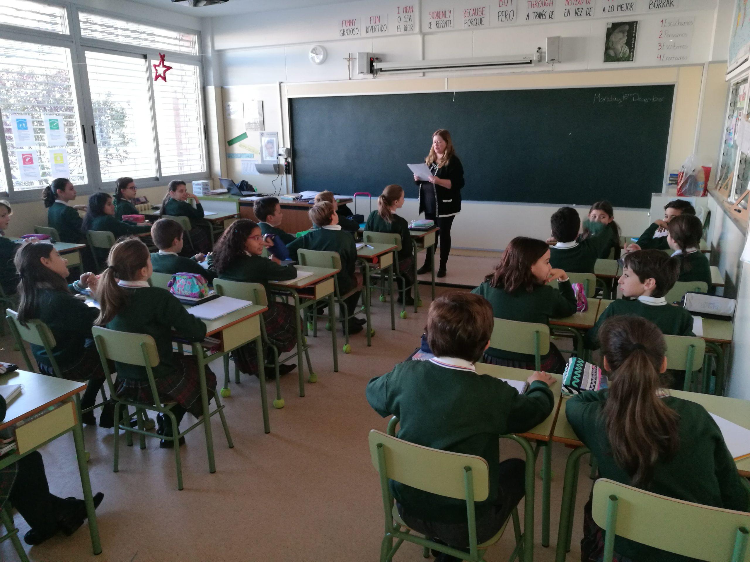 Colegio María Virgen, Madrid, Bilingüe, Familias MV, Innovación