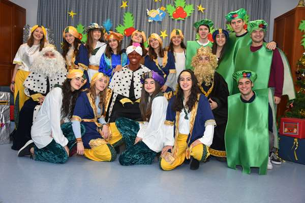 Puertas abiertas colegio bilingüe concertado María Virgen Madrid Infantil