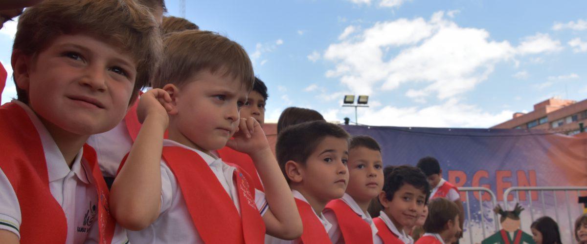 Graduación Infantil Colegio concertado María Virgen Chamartín Madrid