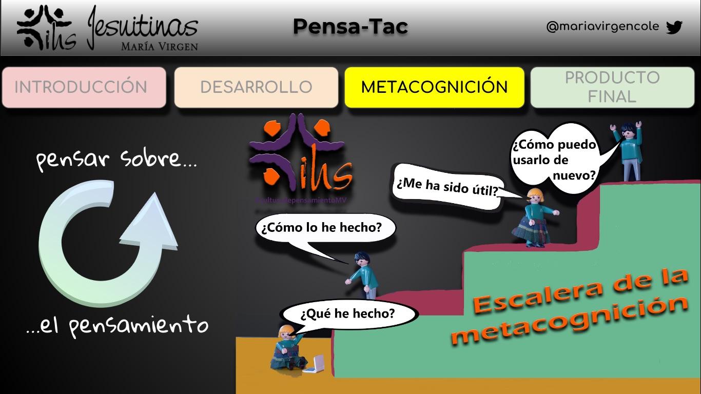 Pensamiento MV en SIMO Educación2 colegio bilingüe concertado plazas