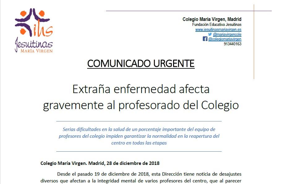 Colegio concertado María Virgen - Jesuitinas Chamartín bilingüe guardería madrid mejores colegios