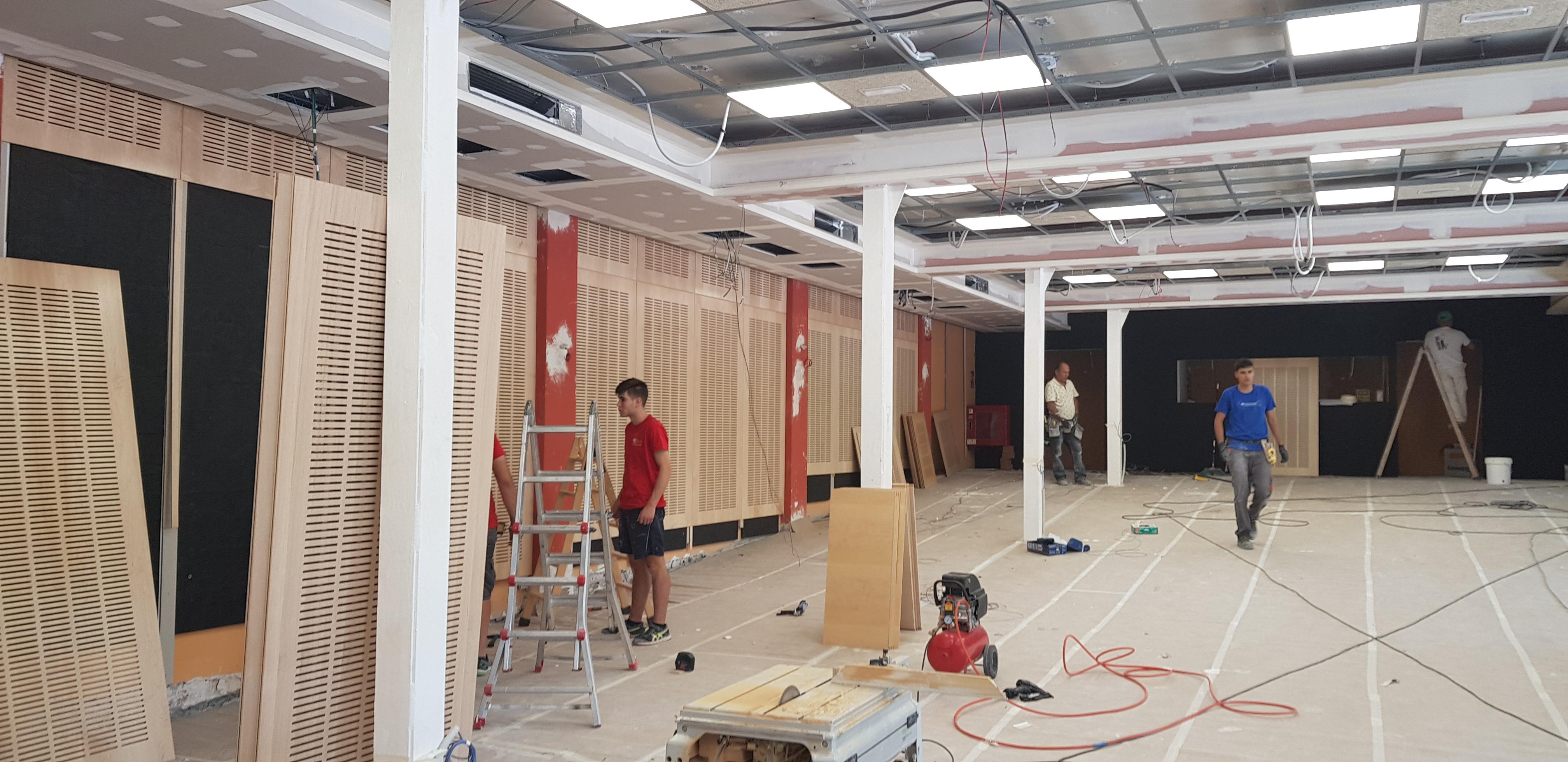 Obras en verano colegio bilingüe concertado chamartín plazas
