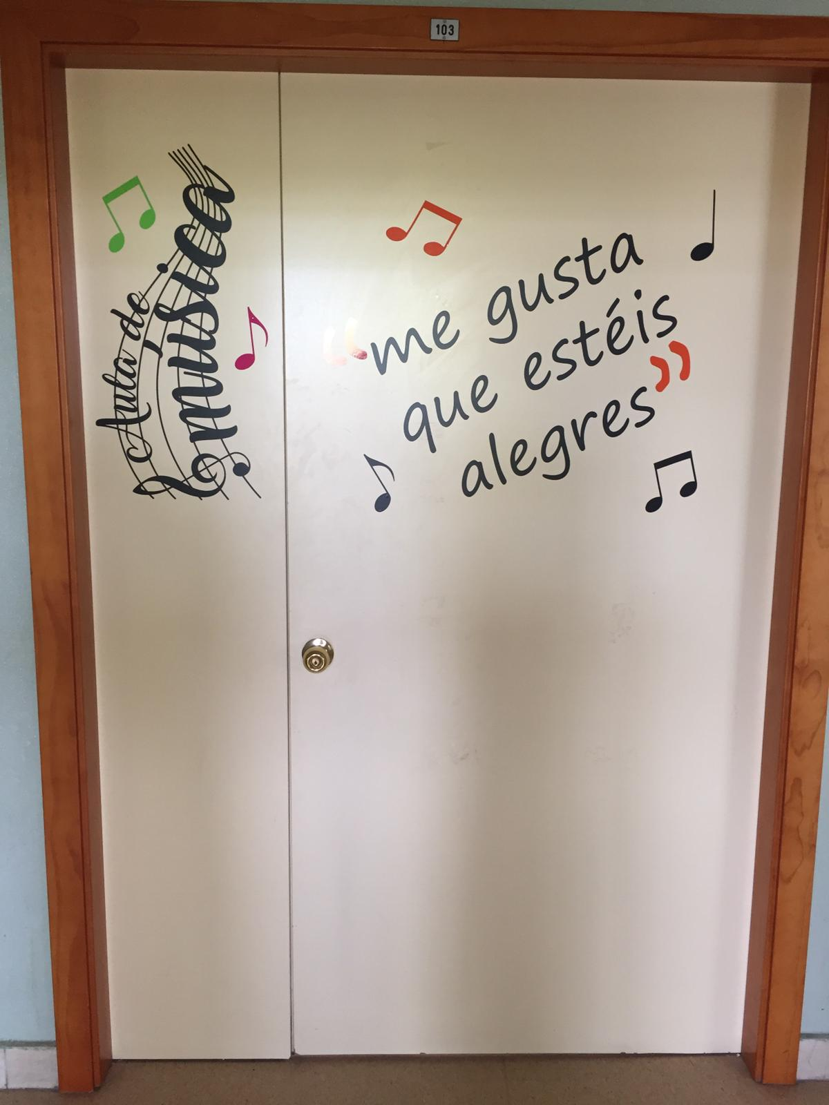 Colegio bilingüe concertado María Virgen Chamartín obras verano