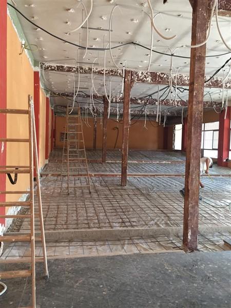 Obras colegio María Virgen Chamartín