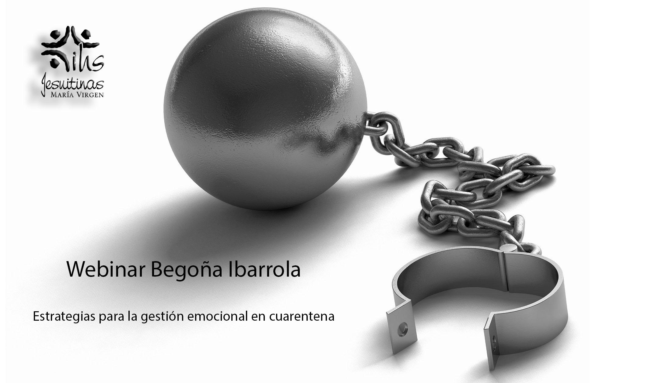 Begoña Ibarrola en colegio María Virgen Madrid